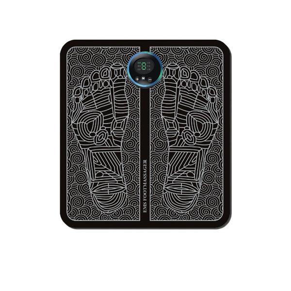 現貨 家用智慧足部舒壓脈沖足療機緩解疲勞腳墊 電動腳底按摩器美腿器-裝飾界