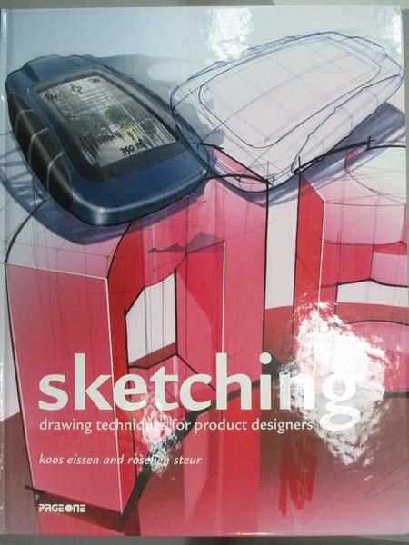 【書寶二手書T9/設計_HMX】Sketching-Drawing Techniques for Product Des