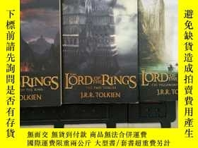 二手書博民逛書店The罕見Hobbit and The Lord of the