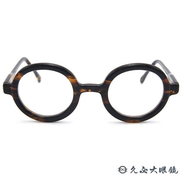 NATIVE SONS 眼鏡 Dharma B (玳瑁) 圓框 日本手工 近視眼鏡 久必大眼鏡