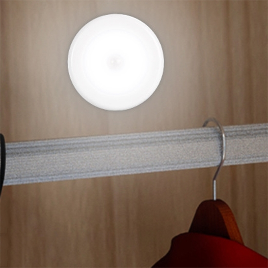 感應燈 小夜燈 LED燈 人體感應 節能燈 USB充電 壁掛 黏貼式 磁吸式 LED感應燈【L200】米菈生活館