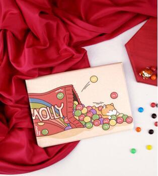 iPad保護套新款卡通彩虹糖