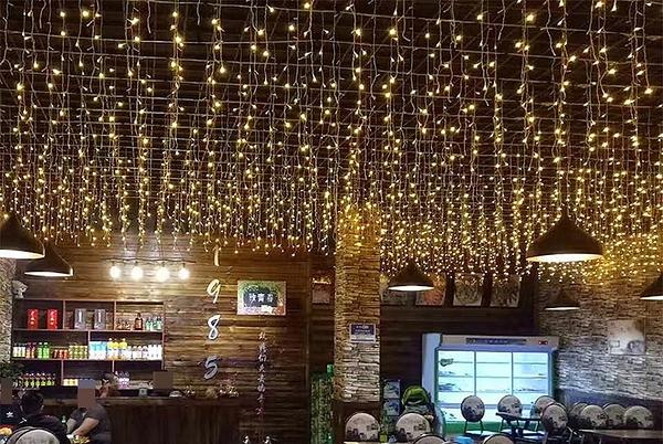 LED冰條燈 3.5米96顆 (聖誕燈 LED窗簾燈)