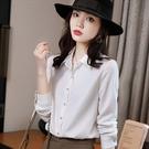 襯衫領配色條紋輕鬆搭配秋冬上衣[21X104-PF]美之札