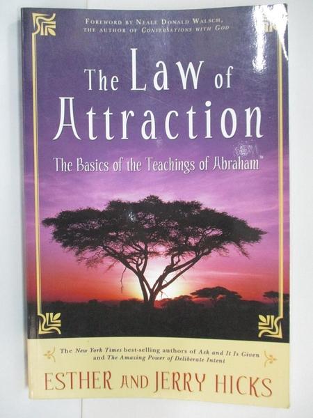 【書寶二手書T1/原文書_DYU】The Law of Attraction_Esther,Jerry Hicks