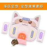 防偏頭嬰兒枕頭0-1歲新生兒0-3-6個月糾正偏頭寶寶透氣矯正定型枕    琉璃美衣