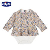 chicco-TO BE Baby-小碎花洋裝式連身衣