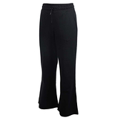 NIKE 長褲 NSW PANT JRSY 黑 棉質 寬版 運動 女 (布魯克林) CJ3743-010
