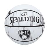 SPALDING NBA隊徽-籃網 #7籃球(室外 7號球 運動 斯伯丁 免運 ≡排汗專家≡