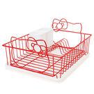 Hello Kitty濾水架 造型碗盤瀝水架/餐具架 [喜愛屋]