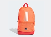 Adidas-CLASSIC 3-STRIPES 亮橘色後背包-NO.FJ9268