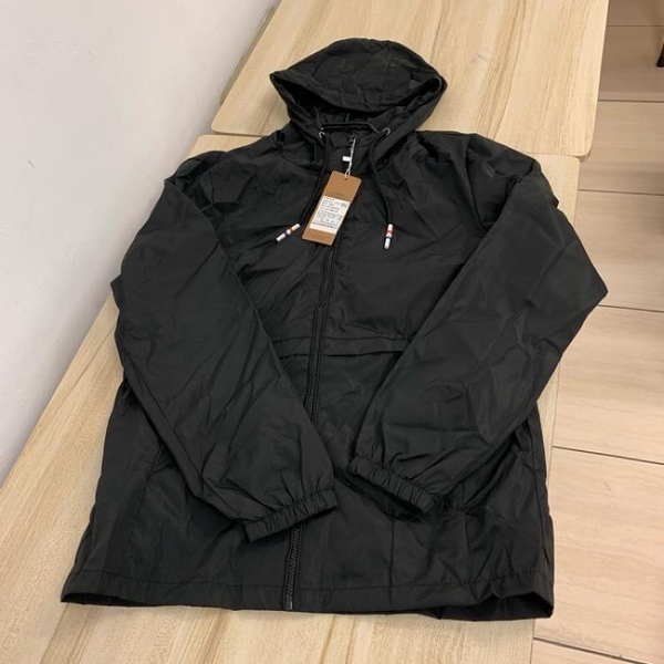 基本款修身休閒連帽夾克外套(2XL號/121-4731)