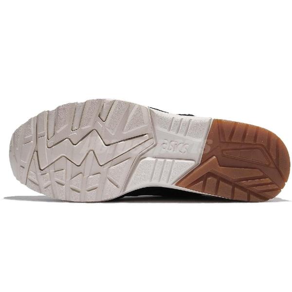 Asics Tiger 慢跑鞋 Gel-Kayano Trainer 黑 綠 迷彩 麂皮 膠底設計 運動鞋 男鞋【PUMP306】 HL7C19086