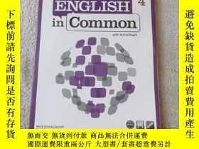 二手書博民逛書店English罕見in Common 4 With Active