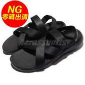 【NG出清】Nike 休閒涼鞋 Wmns Roshe One Sandal 黑 全黑 涼鞋 女鞋 大小腳(左腳US5/右腳6)【PUMP306】