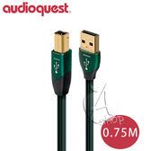 【A Shop 】美國Audioquest USB Digital Audio Forest 傳輸線0 75M A B