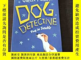 二手書博民逛書店Pug罕見in Trouble (Jack Russell, Dog Detective)(英文原版,插畫本)