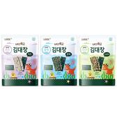 韓國 LUSOL 專利夾心烘烤海苔-芝麻海苔 烤糙米海苔 海苔起司 寶寶點心 嬰兒零食 副食品 88505