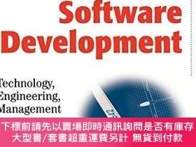 二手書博民逛書店Model-driven罕見Software DevelopmentY255174 Thomas Stahl