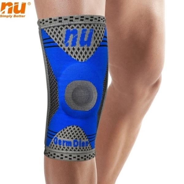 【恩悠數位】NU 鈦鍺能量 冰紗護膝套(XXL)