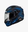 【東門城】SOL SF-6 超新星 (消光灰/黑藍) 全罩式安全帽 雙鏡片 內墨鏡