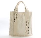 日本雜志附錄款 潮牌米白色厚實帆布款側背手提托特包 敞口購物袋 伊蘿