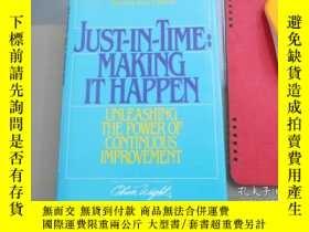 二手書博民逛書店Just-In-Time:罕見Making It HappenY