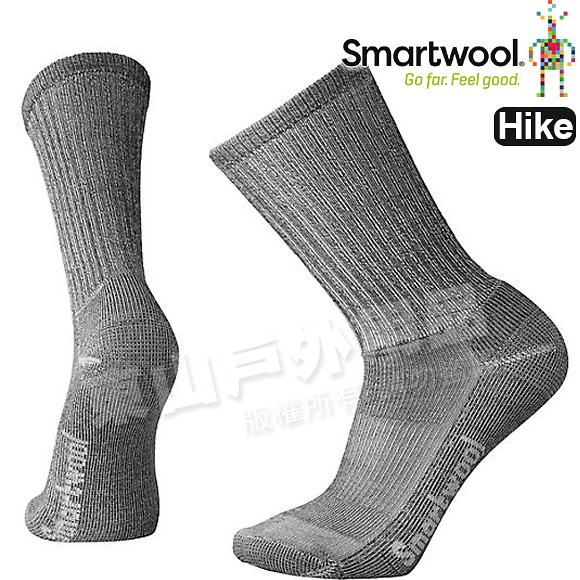 Smartwool Hike LT SW129-043灰 男超輕型徒步中長襪 美麗諾羊毛襪/戶外運動登山襪/健行排汗襪