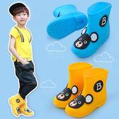 兒童雨鞋加絨男童女童寶寶雨靴防滑公主可愛 LQ1270『夢幻家居』