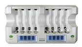 【中將3C】enerpad 鎳氫電池充電器(LCD快速型) .M-800L