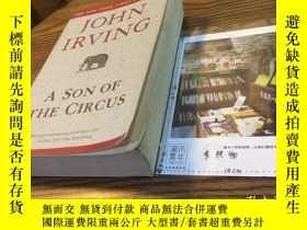 二手書博民逛書店英文原版罕見a son of the circus 約翰 歐文《