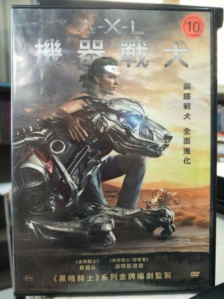 挖寶二手片-Z27-048-正版DVD-電影【機器戰犬】-黑暗騎士系列金牌編劇監製