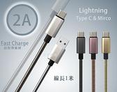 『Type C 2米金屬充電線』ASUS華碩 Zenfone 8 Flip ZS672KS 傳輸線 200公分 快速充電