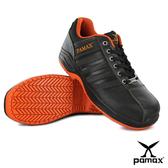 PAMAX 帕瑪斯【頂級專利氣墊、輕量止滑安全鞋】超彈力抗菌氣墊、休閒型防滑鞋※ PA09025H男