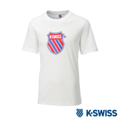 K-SWISS Heritage T-Shirt印花短袖T恤-男-白