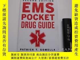 二手書博民逛書店EMS罕見Pocket Drug Guide 原版Y16690
