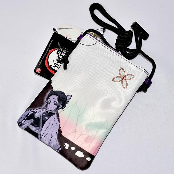 鬼滅之刃 蝴蝶忍 手機側背包, 手機包, 證件包 BANDAI 日本正版