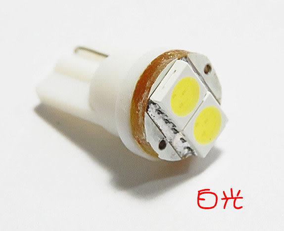 LED T10 1W 高品質 超高亮度 角度廣 台灣製造 新增黃金光