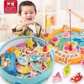 寶寶小貓釣魚玩具磁性開發嬰兒童 cf