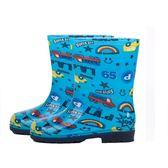 雨淘兒童雨鞋恐龍男童女童水鞋防滑加厚寶寶卡通雨靴膠鞋中筒幼兒