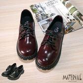 包鞋 綁帶素面漆皮包鞋 MA女鞋 T7703