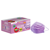 萊潔 醫療防護口罩成人-薰衣草紫(50入/盒裝)