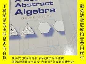 二手書博民逛書店A罕見Book Abstract AlgebraY310981