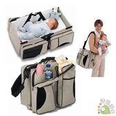 便攜式收納手提多功能媽咪包嬰兒床包wy