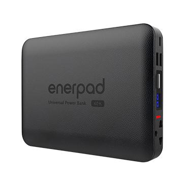 【贈自拍神器】enerpad AC40K 攜帶式直流電 / 110V 交流電行動電源 【可攜帶上飛機】 電容量:40200mAh