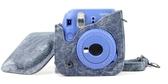 相機皮革包富士拍立得相機包mini8//9/7s/25/70/90專用保護殼皮套 美好生活居家館