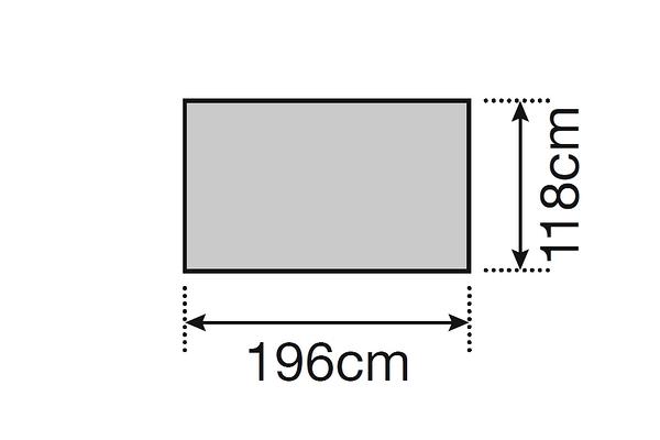 [好也戶外]snow peak FAL 2人 登山帳 地布 No.SSD-602-1