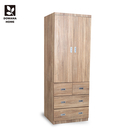 【多瓦娜】MIT-3X7四抽衣櫃/衣櫥-18048-WB