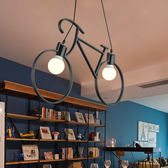 優惠快速出貨-吊燈 北歐美式創意個性服裝店吊燈咖啡廳藝術餐廳兒童房走廊過道臥室燈RM