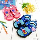 童鞋城堡-佩佩豬 喬治豬 繽紛星星 童涼鞋PG4529 粉/藍 (共二色)